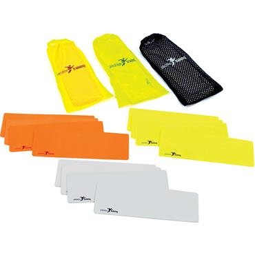 Precision Training Flat Rectangle Markers (10)