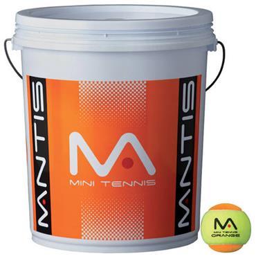 Mantis Mini-Tennis Balls- 6 Dozen Bucket (72 Balls)