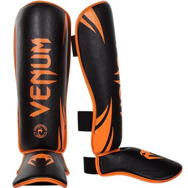 Venum Challenger Shinguards | ORANGE