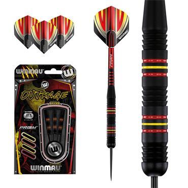 Winmau Outrage Brass Darts