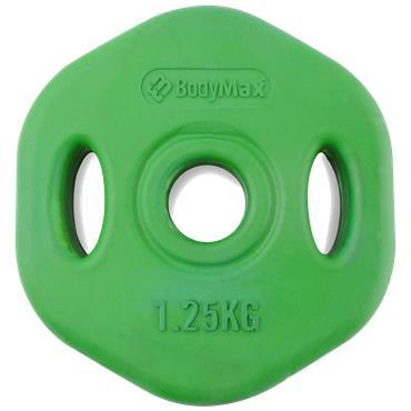 Bodymax Coloured Rubber Studio Set Discs (Singles)