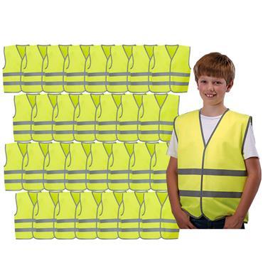 Kids Class Safety Pack - Hi-Vis Vest 30 Pack