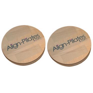"Align-Pilates Rotational Disks 12"" (Pair)"