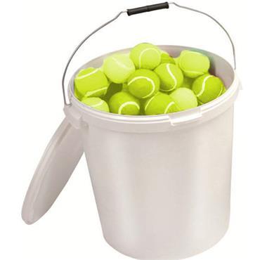 Tuftex Play Tennis Ball Bucket (96 Balls)