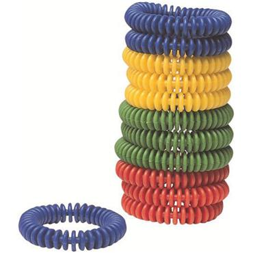 Tuftex Telephone Wire Quoits Team Colours  Pack 12