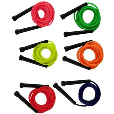 Plastic Skipping Ropes 2.2m (6 Pack)