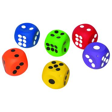 First-play Inflatable Dice