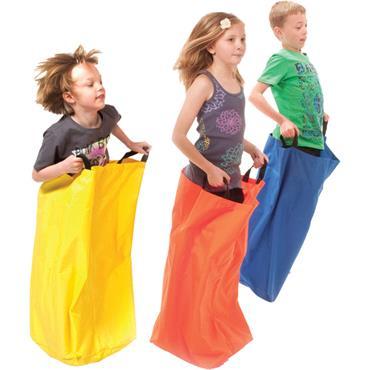 Playm8(Set Of 6) Kangaroo Sack /Jump Sack (bag)