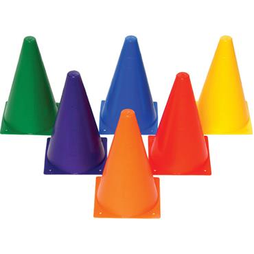 Playm8 (Set Of 6) 23Cm Mini Cones