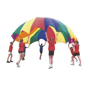 PlayM8 5m Parachute (16 Handle) with Instruction Book
