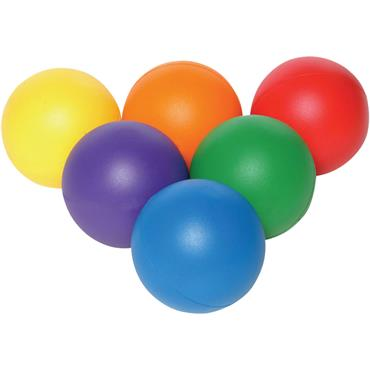Playm8 (Set Of 6) 20cm Coated Foam Balls