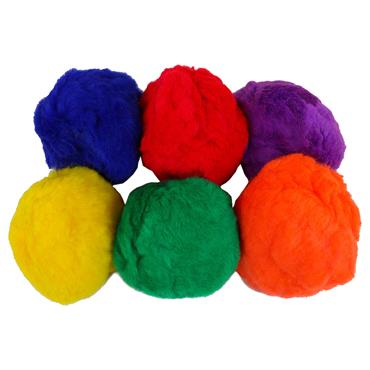 Playm8 (Set Of 6) Fluff Balls