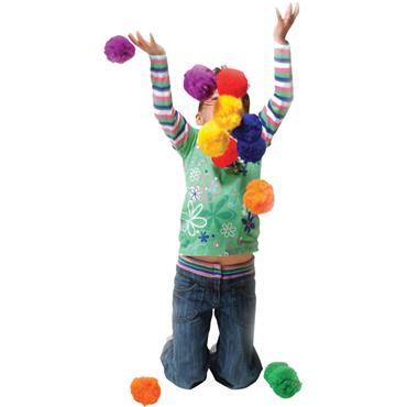 Playm8(Set Of 6) Fluff Balls