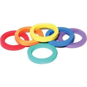 Playm8(Set Of 6) Foam Rings