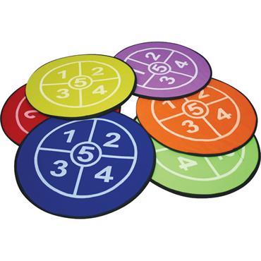 Playm8 (Set Of 6) Multi Targets