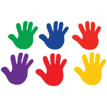 Playm8 (Set Of 6) Marking Hands