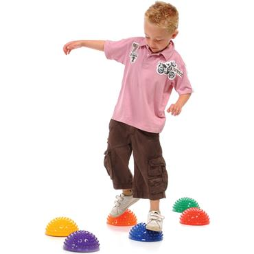 Playm8(Set Of 6) Sensory Step Domes