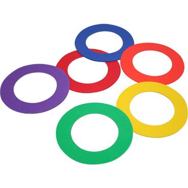 Playm8 (Set Of 6) Doughnut Rings (6)