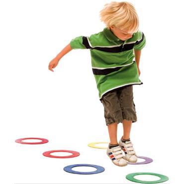 Playm8 (Set Of 6) Doughnut Rings (6)