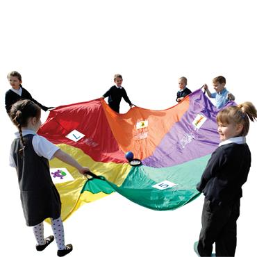 PLAYM8® 5-A-DAY PARACHUTE