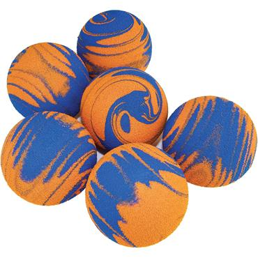 Tuftex Swirly Foam Balls Pack 6