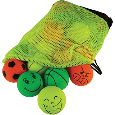 Neon Sponge Balls Pack