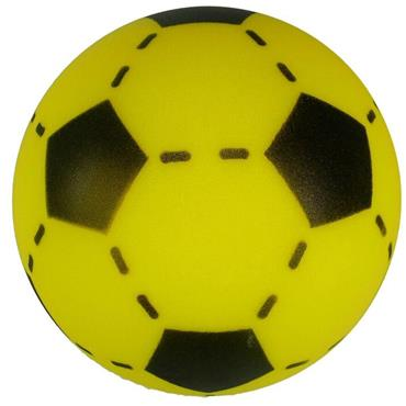 Soft Foam Sponge Football 20cm Yellow
