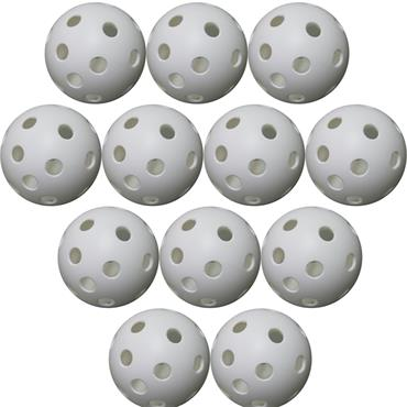 Perforated Balls 42mm (12 Pack)