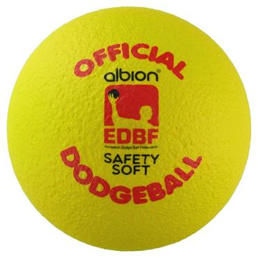 Albion UKDBA Coated Dodgeball 15cm