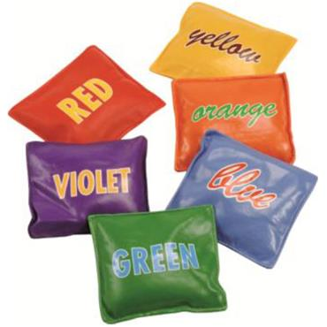 Tuftex PVC /Vinyl Multi Coloured Bean Bag Set