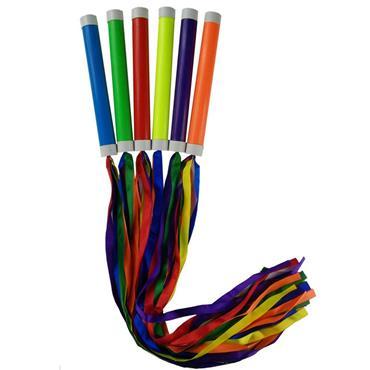 Rainbow Batons (6 Pack)