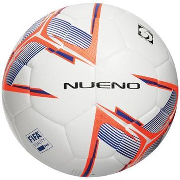 Precision Nueno Match Football (White/Deep Blue/Fluo Orange) | Size 5