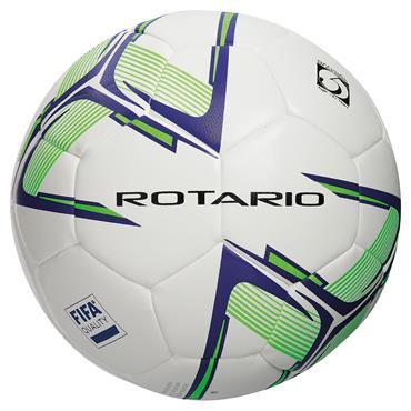 Precision Rotario Match Football (White/Purple/Fluo Green) | Size 5
