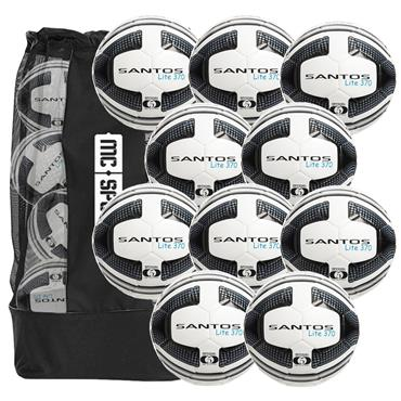 Precision Santos Lite Training Ball 370g (10pk + Free Bag)