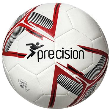 Precision Fusion Training Ball (White/Red) | Size 5