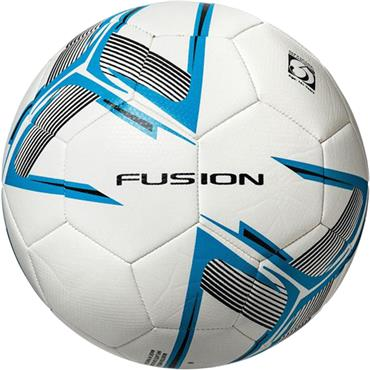 Precision Fusion Size 5 Match & Training Balls (White/Blue) | Pack of 10