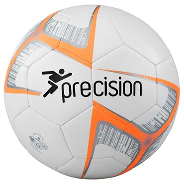 Precision Fusion Lite Match Quality Training Football | 290g (White/Orange)