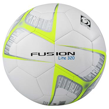Precision Fusion Lite Match Quality Training Football | 320g (White/Yellow)