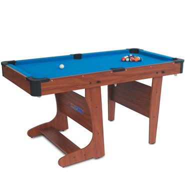 6ft Clifton Economic Folding Pool Table | Blue