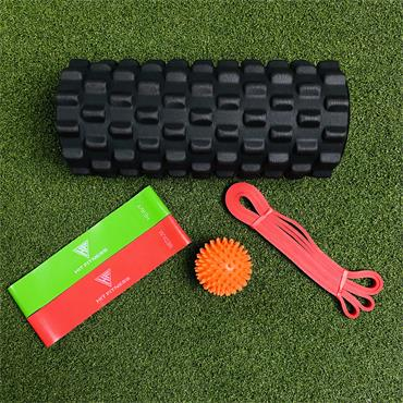 Recovery Pack | Foam Roller, Mobility Tools & Bag
