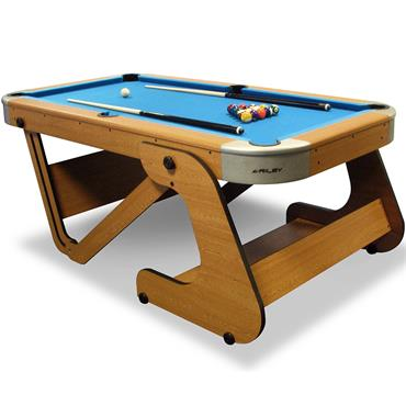 "6ft 6"" Folding Pool Table 