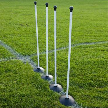 Wooden Rounders Posts (4 Pack)