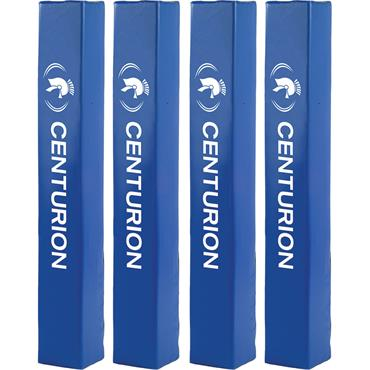 "Royal Blue Post Pads  Protectors Set 4 Fit: 4"" Dia 10X10X72"""