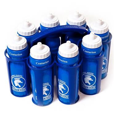 Centurion Water Bottle Carrier & 8 Bottles
