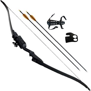 Petron Stealth Youth Recurve Shoot Through Bow Kit