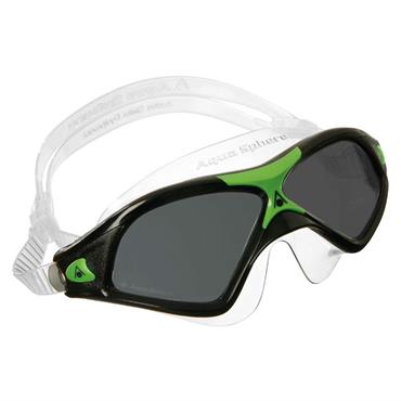AquaSphere Seal XP 2 Adult Goggle Dark Lens | Black/Green
