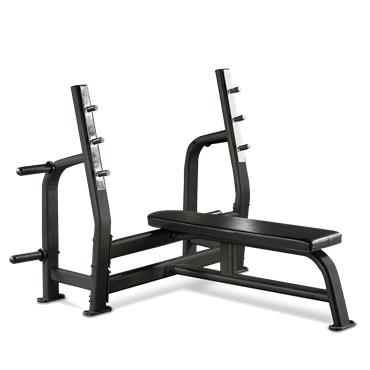 Bodymax BE275 Commercial Olympic Flat Bench Black