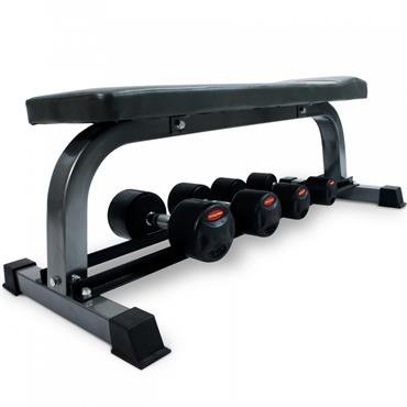 Bodymax CF302 Flat Bench & DB Rack