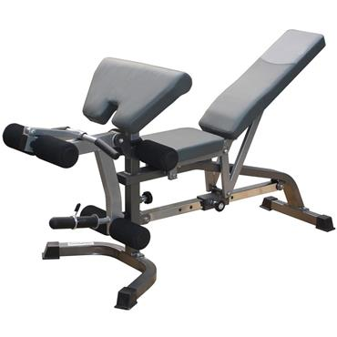 Bodymax CF330 Premium Weight Bench with Leg Curl