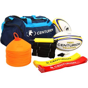 Centurion Adult Tag Rugby Pack with White Cones
